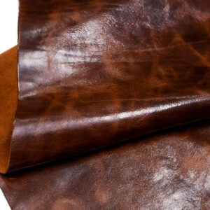 Кожа КРС с эффектом пул ап (Pull Up), коричневая, 123 дм2.-D1-192