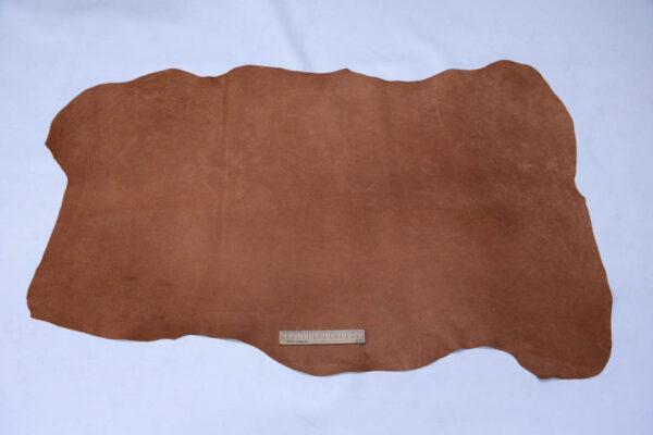 Кожподклад свиной (спилок), виски, 68 дм2.-401085