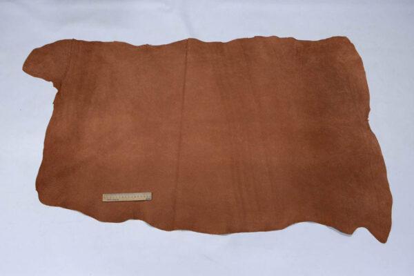Кожподклад свиной (спилок), виски, 87 дм2.-401087