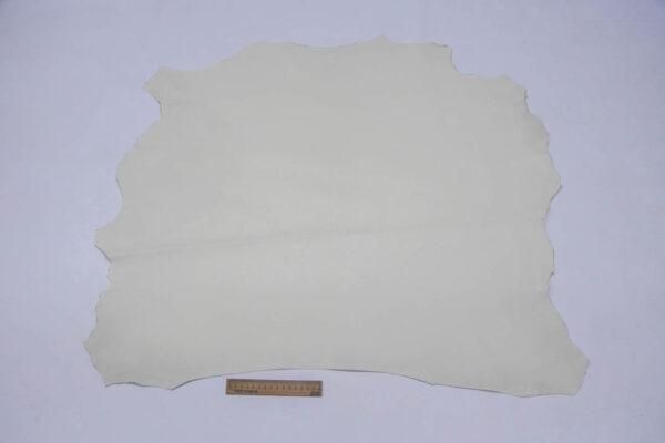 Кожа МРС (краст), темно-белая, 50 дм2.-109713