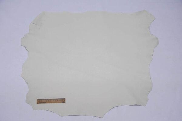 Кожа МРС (краст), темно-белая, 50 дм2.-109714