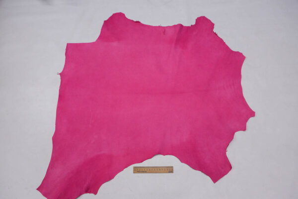 Кожа МРС (краст), светло-малиновая, 57 дм2.-109729