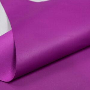 Кожа МРС, пурпурная, 38 дм2.-109735