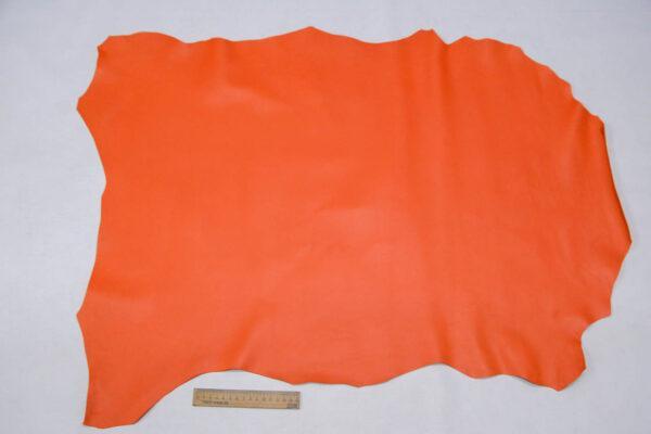 Кожа МРС, морковная, 54 дм2.-109742