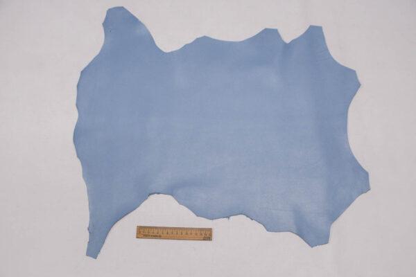 Кожа МРС, голубая, 27 дм2.-109746