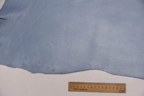 Кожа МРС, голубая, 37 дм2.-109748