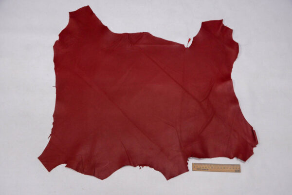 Кожа МРС, темно-красная, 36 дм2.-109753
