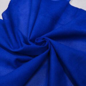 Велюр одежный МРС с перфорацией, ярко-синий, 64 дм2, Bonaudo S.p.A.-109778