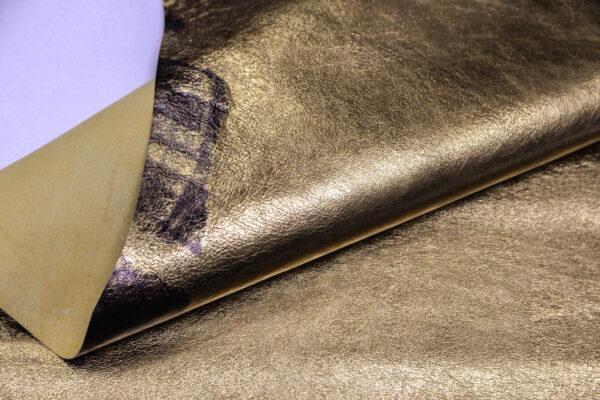 Кожа кенгуру, золотая, 44 дм2, Bonaudo S.p.A.-109799