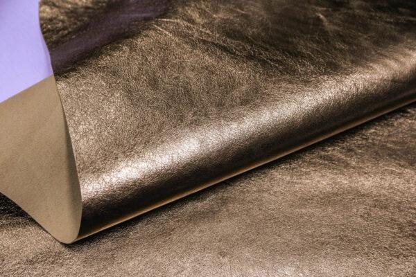 Кожа кенгуру, золотая, 42 дм2, Bonaudo S.p.A.-109800