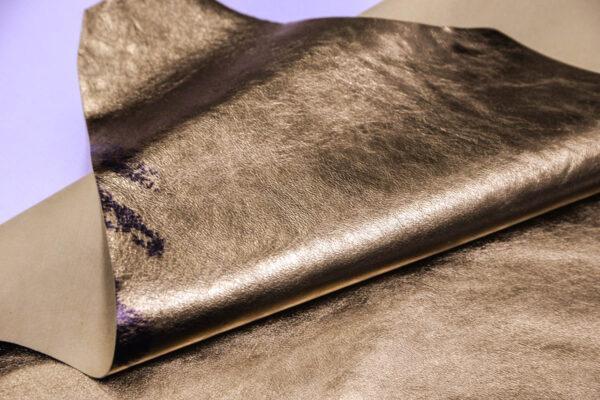 Кожа кенгуру, золотая, 44 дм2, Bonaudo S.p.A.-109801