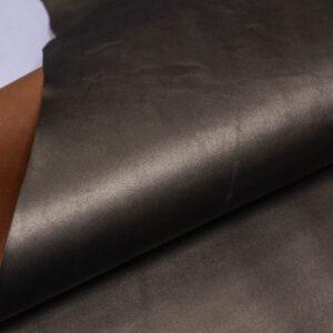 Кожа кенгуру, оливковый металлик, 55 дм2, Bonaudo S.p.A.-109804
