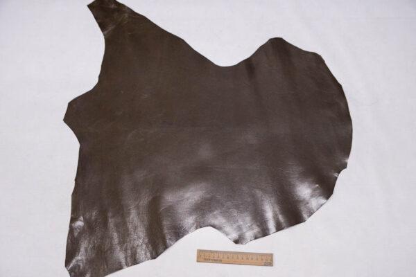Кожа кенгуру растительного дубления, темно-оливковая, 31 дм2, Bonaudo S.p.A.-109816