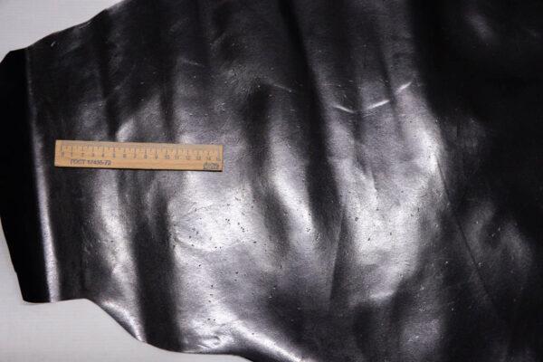 Кожподклад кенгуру, черный, 33 дм2, Bonaudo S.p.A.-109821