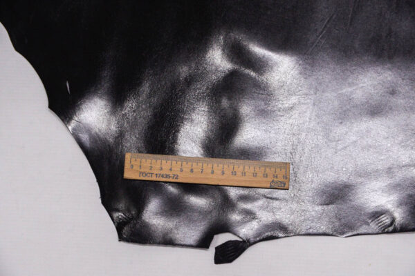 Кожподклад кенгуру, черный, 38 дм2, Bonaudo S.p.A.-109825