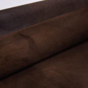 Велюр МРС (коза), темно-коричневый, 26 дм2, Conceria Stefania S. p. A.-109841