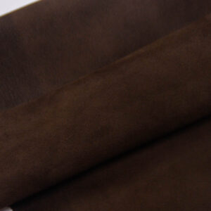 Велюр МРС (коза), темно-коричневый, 25 дм2, Conceria Stefania S. p. A.-109843