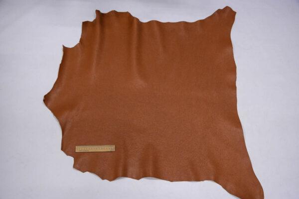 Кожа козы, светло-коричневая, 63 дм2, Falco Pellami S.p.A.-109865