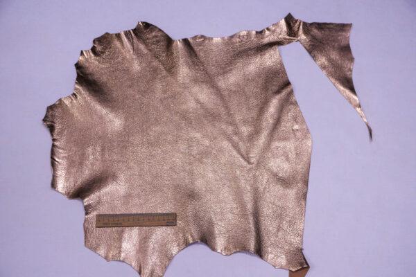 Кожа козы, розовое золото, 26 дм2, Conceria Martucci Teresa S.R.L.-109871