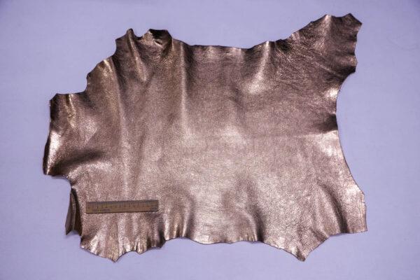 Кожа козы, розовое золото, 39 дм2, Conceria Martucci Teresa S.R.L.-109872