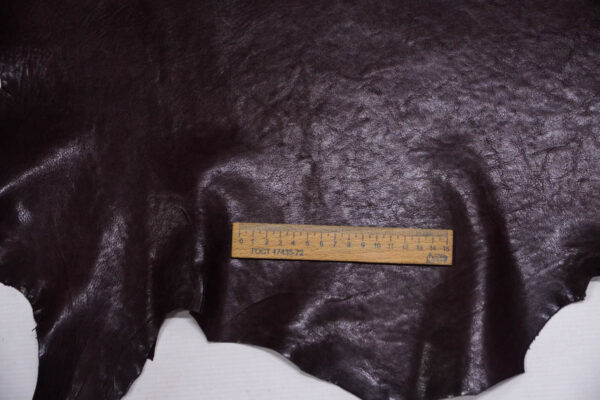 Кожа козы, темно-бордовая, 38 дм2, Derma S.r.l.-109880