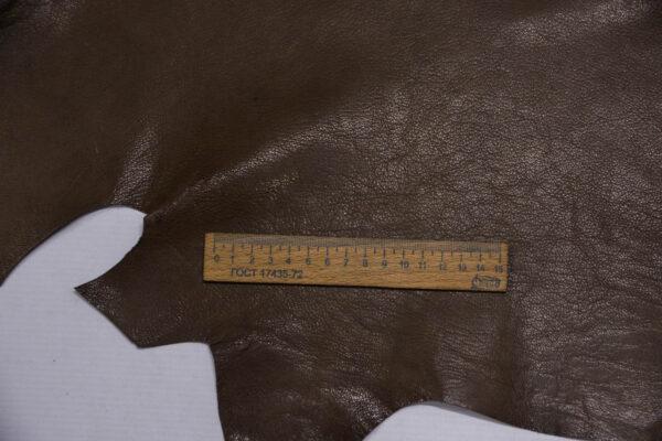 Кожа козы, какао, 50 дм2.-109893
