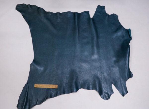 Кожа козы, темно-бирюзовая, 56 дм2, Russo di Casandrino S.p.A.-109916