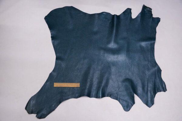 Кожа козы, темно-бирюзовая, 52 дм2, Russo di Casandrino S.p.A.-109918