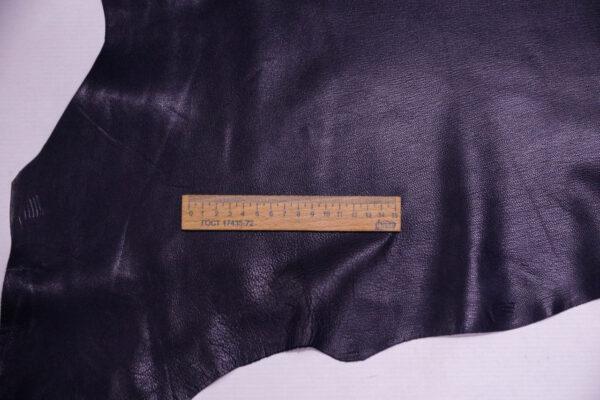 Кожа козы, чернильная, 46 дм2, Russo di Casandrino S.p.A.-109922