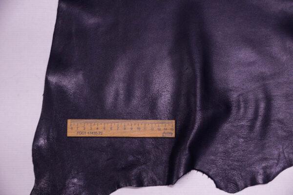 Кожа козы, чернильная, 47 дм2, Russo di Casandrino S.p.A.-109924