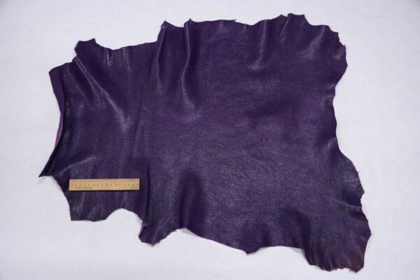 Кожа козы, фиолетовая, 41 дм2, Derma S.r.l.-109933
