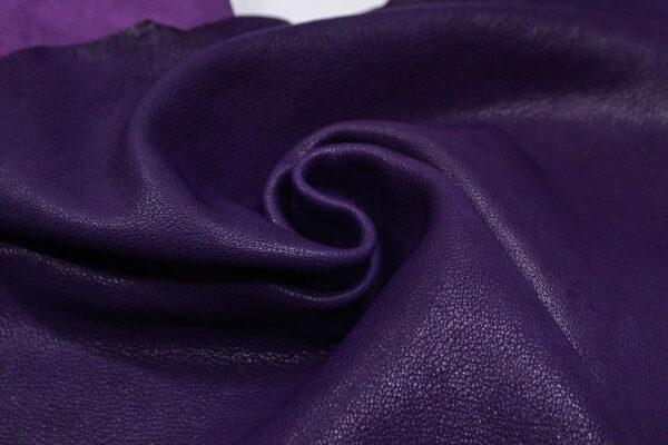 Кожа козы, фиолетовая, 40 дм2, Derma S.r.l.-109934