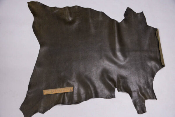 Кожа козы, оливковая, 42 дм2, Russo di Casandrino S.p.A.-109936