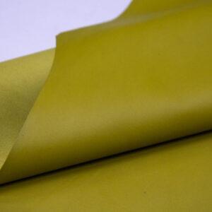 Кожа МРС, оливково-желтая, 56 дм2.-109950
