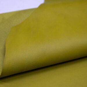 Кожа МРС, оливково-желтая, 59 дм2.-109951