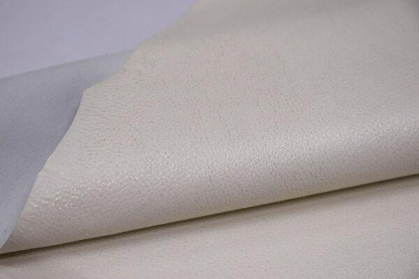 Кожа оленя, молочная с блестками, 69 дм2, Bonaudo S.p.A.-109964
