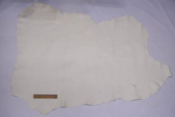 Кожа оленя, молочная с блестками, 80 дм2, Bonaudo S.p.A.-109965
