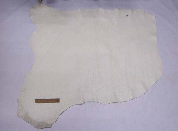 Кожа оленя, молочная с блестками, 77 дм2, Bonaudo S.p.A.-109966