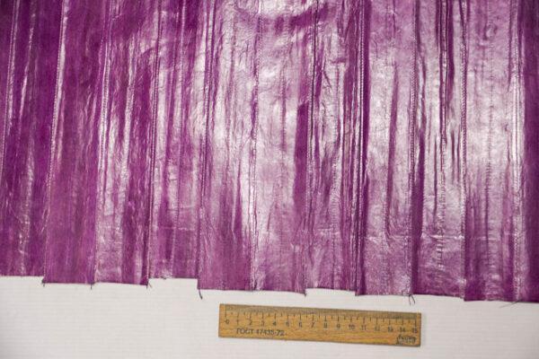 Кожа угря (пластины), сиреневая, 90 дм2-ugr-22