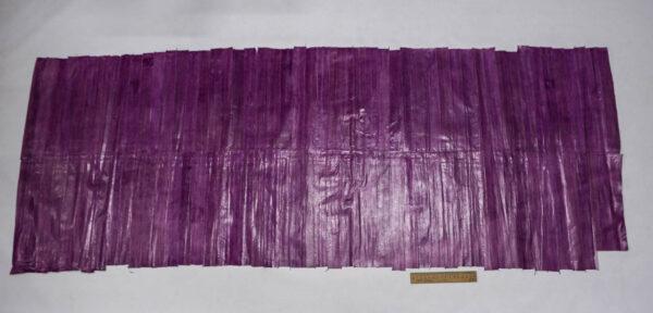 Кожа угря (пластины), сиреневая, 91 дм2-ugr-23
