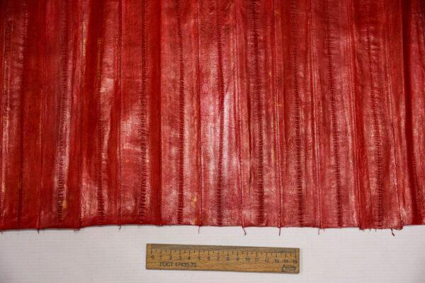 Кожа угря (пластины), красная, 89 дм2-ugr-37