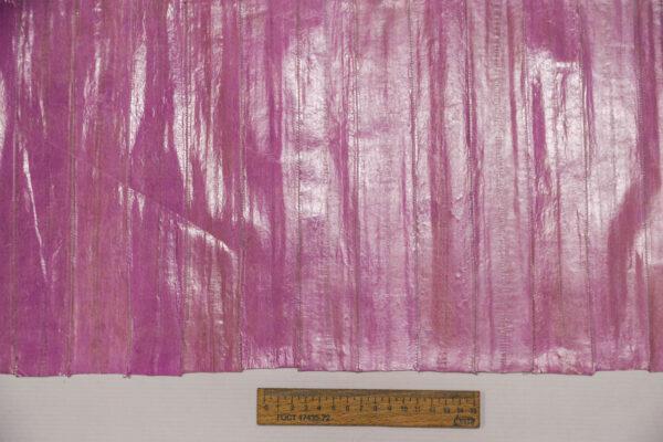 Кожа угря (пластины), розово-сиреневая, 91 дм2-ugr-42