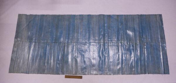 Кожа угря (пластины), голубая, 90 дм2-ugr-49
