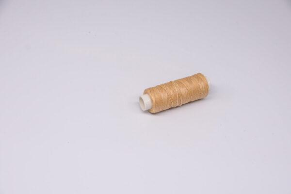 """Нить """"GALACES"""" вощеная круглая 0,45 мм. Кремовая-s005"""