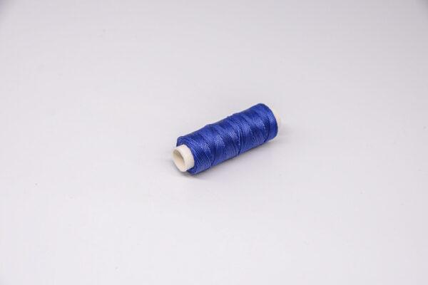 """Нить """"GALACES"""" вощеная круглая 0,45 мм. Ярко-синяя-s037"""
