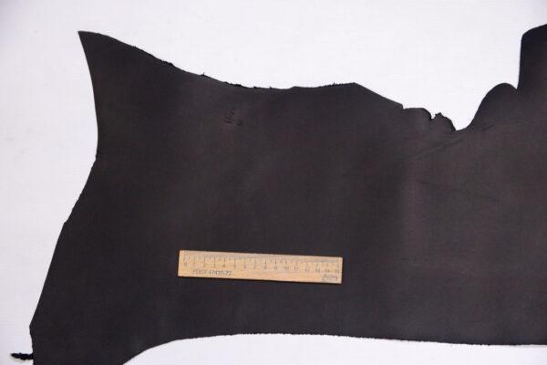 Кожа КРС крейзи хорс (Crazy Horse), черная, 35 дм2.-1-448