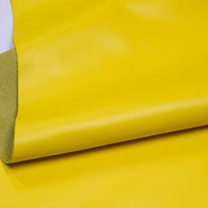 Кожа КРС гладкая, желтая, 152 дм2.-D1-245