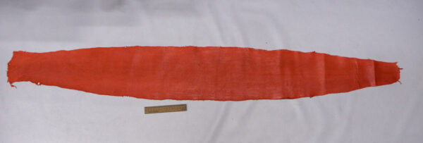 Кожа змеи (Karung), коралловая, 155х21 см.-zm1-60