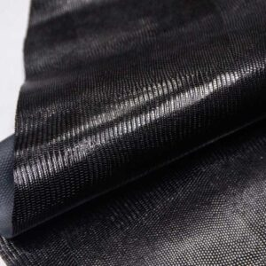 Кожа КРС с тиснением под игуану, черная, 150 дм2, SamAnta S.R.L.-109983