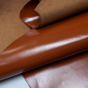 Кожа КРС, светло-коричневая, 125 дм2.-109984